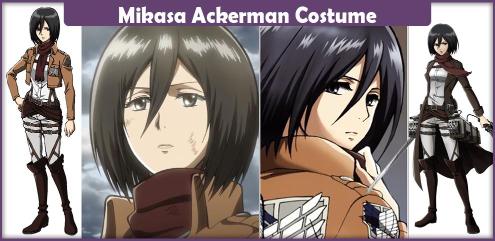 Mikasa Ackerman Costume – A DIY Guide