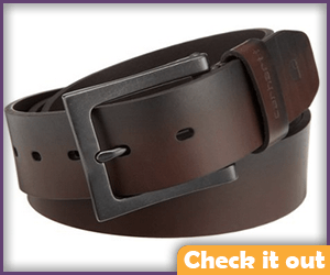Brown Leather belt.