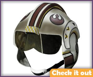 Poe Dameron Costume Flight Helmet.