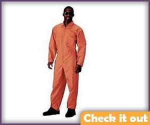 Orange Flight Suit.
