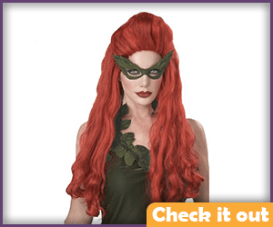 Red Costume Wig.
