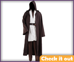 Brown Robes and Costume Set.