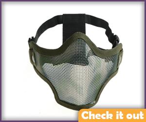 Half Face Mask.