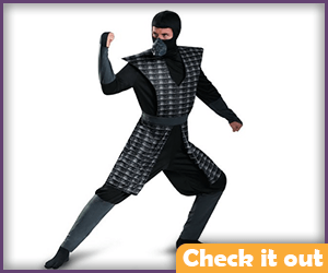 Black Ninja Costume.