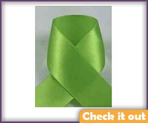 Green Ribbon (for hair).
