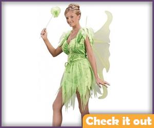 Neverland Tink Costume.
