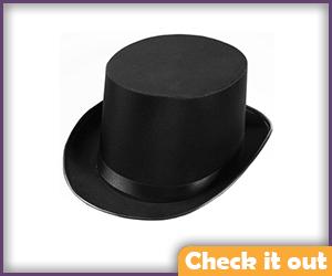 Satin Top Hat.