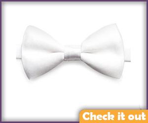 White Bow Tie.