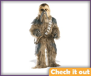 Chewbacca Adult Costume.