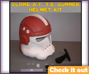 AT-TE Gunner Costume Helmet.