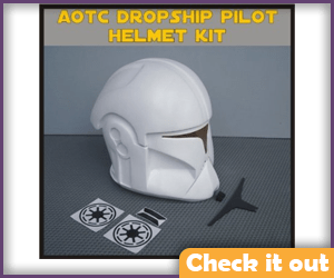 AOTC Dropship Pilot Helmet DIY.