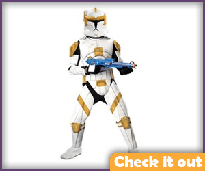 Commander Cody Costume Adult Armor.