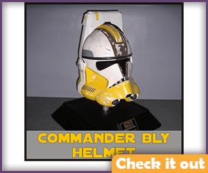 Commander Bly Costume Helmet.
