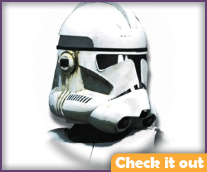Revenge of the Sith Clone Trooper Prop Helmet.