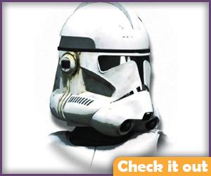 Revenge of the Sith Clone Trooper Prop Helmet.