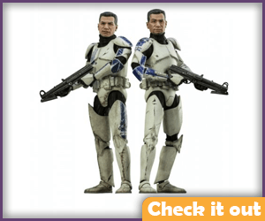 Fives and Echo Sideshow Figure.