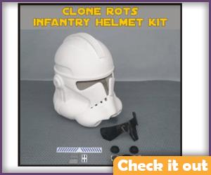 Clone RTOS Infantry Helmet DIY.