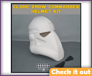 Snow Commander Costume Helmet.