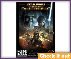 Star Wars: The Old Republic PC Game.
