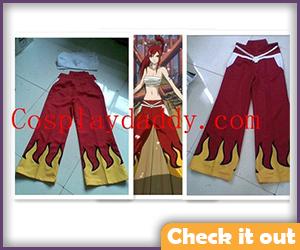 Ezra Scarlet Fire Costume.