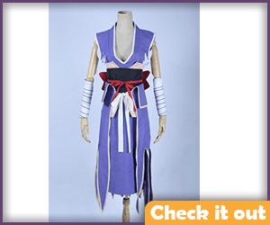 Erza Scarlet Kimono Light Purple.
