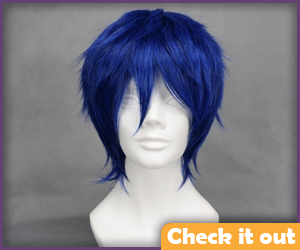 Blue Wig.