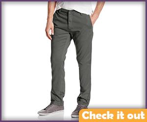 Gray Pants.