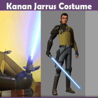 Kanan Jarrus Costume - A DIY Guide
