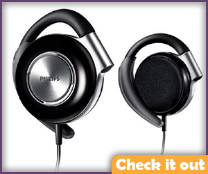 Black and Silver Headphones.