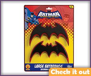 Classic Batarangs.