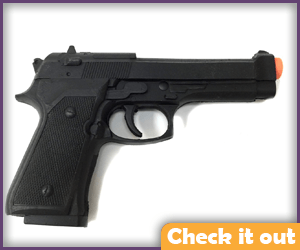 Prop Handgun.