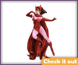 Scarlet Witch Statue.