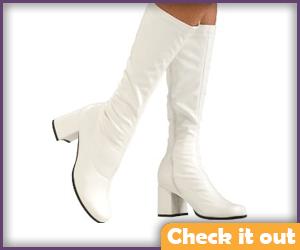 White Go-Go Boots.