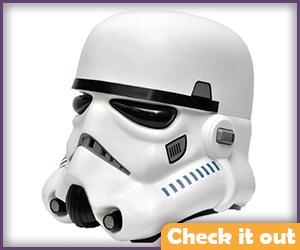Injection Mold Stormtrooper Helmet.