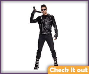 Terminator Costume Adult Set.