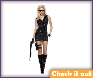 Cop Terminator Mini Dress.