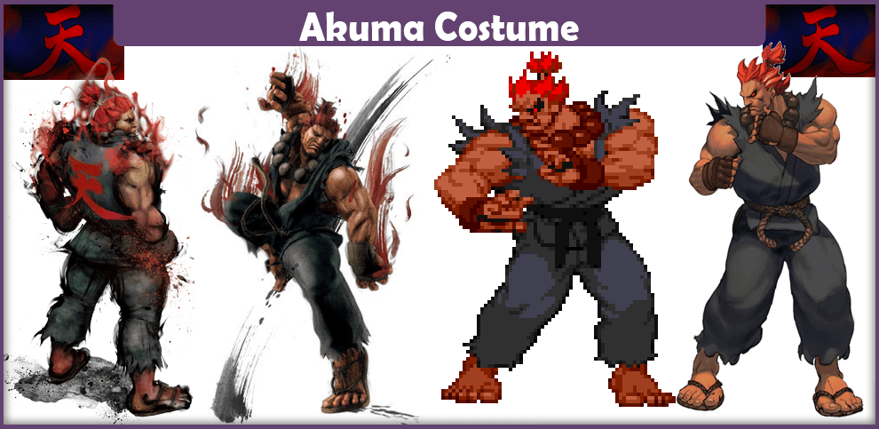 Akuma Costume – A DIY Guide