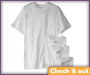White Undershirt.