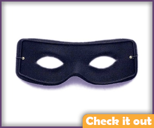 Black Eye Mask.