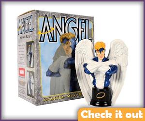Angel Bust statue.