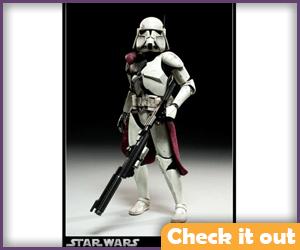 Commander Bacara Sideshow Figure.