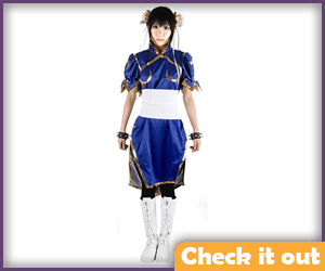 Chun-Li Costume Set Short.