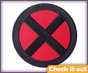 X-Men Red and Black Patch.