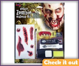 Zombie Makeup Kit.
