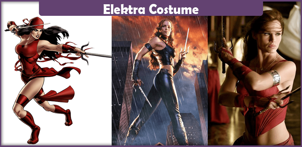 Elektra Costume – A DIY Guide