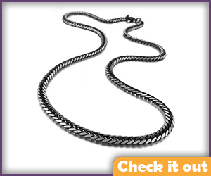 Black Necklace Chain.