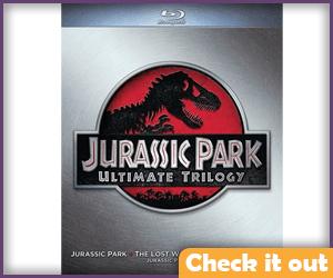 Jurassic Park Blu-ray Trilogy.