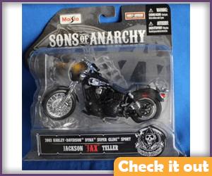 Jax Motorcycle Figure.