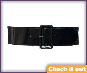 X-Men Movie Patent Leather Belt.