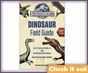 Jurassic Park Dino Field Guide.